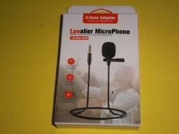 Título do anúncio: Microfone de lapela P2