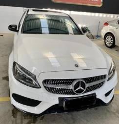 Título do anúncio: Mercedes C300 2018 IPVA 2021 Pago Baixa KM