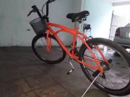 Bicicleta com bagageiro dianteiro comprar usado  São Paulo