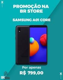 Promoção Na BrStore Samsung Galaxy A01 Core Dual SIM 32 GB Lacrado (Ac cartão)