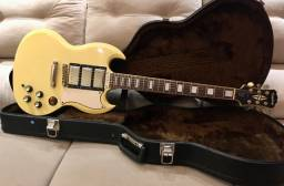 Guitarra Epiphone SG 400 Custom 61? Ivory Antique + Hard Case