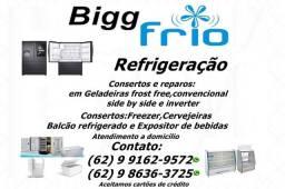 Atendimento rápido>>consertos e manutenção em Geladeiras\Freezer\Cervejeiras e outros