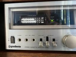 Tape deck gradiente cd-4000 das antigas tudo funcionando perfeitamente