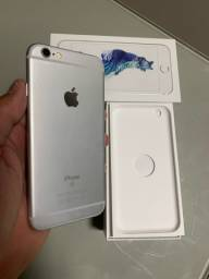 iPhone 6s 64GB Silver / Otimo Estado