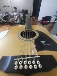 Violao eletrico Eagle 12 cordas + case top!