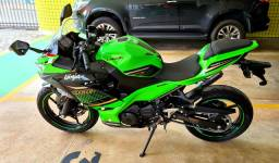 Kawasaki Ninja 400cc modelo 2020 KTR em está só ZERO!