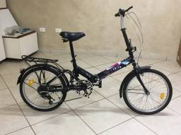 Bicicleta dobrável Night riders