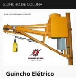 Guincho elétrico de coluna