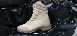 Bota tática militar Masculina 100%Couro Gogowear