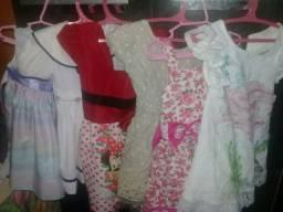 Lote de vestidos 150$