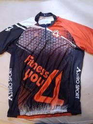 Camiseta ciclismo masculina