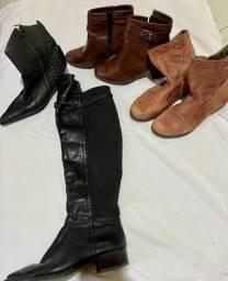 4 pares de bota por R$ 150,00 Número 39