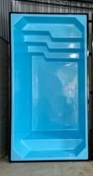 Linda Piscina 4.10x2.20x1.40 completa e Instalada + Brinde