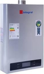 Aquecedor De Água A Gás Digital Astra AG20LD1 20 Litros 220V Prata