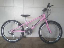 Bicicleta aro 24 nova menina infantil