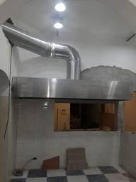 Projeto montagem cozinha industrial, coifa industrial inox sob medida