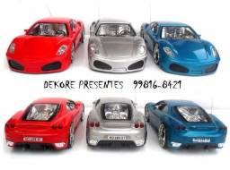 Carrinho de Controle Remoto Total Perfect Light Ferrari - 22cm