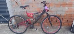 Bicicleta boa com amolecedor