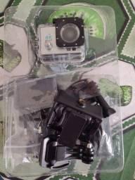Câmera 4k Sports Ultra HD, Card 64G, Wifi, resistente a agua