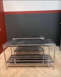 Título do anúncio: Mesa em aço inoxidável