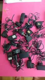 Carregadores de celular 10 reais