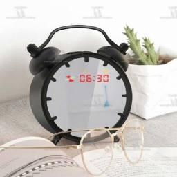Título do anúncio: Mini Alto-falante Sem Fio Bluetooth Pequeno Despertador
