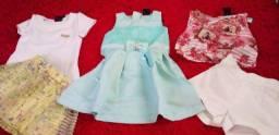Vestidos novos Tam 1 e 2