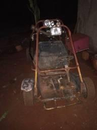 Mini bugui 125 a pedal