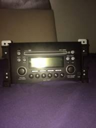 Rádio clarion 6 discos original do susuki grand vitara