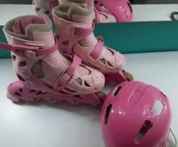patins infantil ajustavel