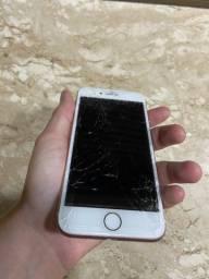 Título do anúncio: Iphone 7 Rose