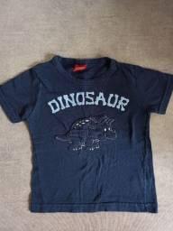 Camisa menino até 1 ano