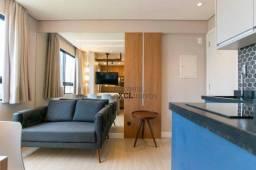 Título do anúncio: Apartamento com 1 dormitório para alugar, 20 m² por R$ 1.200,00/mês - Centro - Curitiba/PR