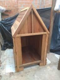 Casa de madeira.  Garapeira