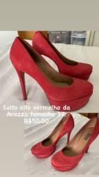 Sapatos femininos 37/38