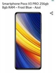 Smartphone Xiaomi Poco X3 PRO 256gb 8gb RAM ? Frost Blue - Azul