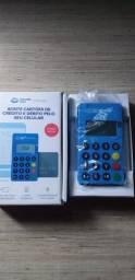 Título do anúncio: Máquina de cartão point mini me30s com aproximação NFC