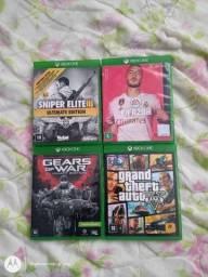 """""""Jogos de Xbox One seminovos e conservados"""""""