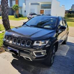 Título do anúncio: Jeep Compass Limited 2.0 Diesel 4x4 2018- Única Dona