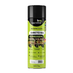 Borracha Líquida Impermeabilizante Spray 400ml Hm Rubber Branco, Preto, Cinza, Alumínio
