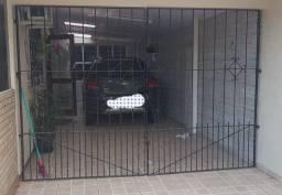 Portão de ferro de 3 metros