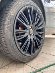 Vendo roda 22 5 x 108 Land Rover / Fusion