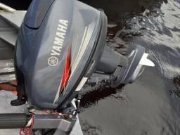 motor 15hp Yamaha seminovo