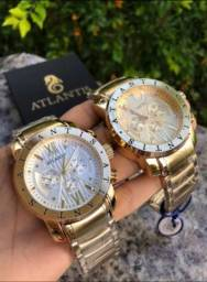 Relógio Atlantis ORIGINAL PROMOÇÃO IMPERDÍVEL!!!!