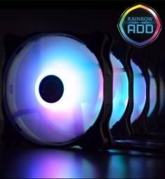 Kit 5 cooler fan Raijintek EOS 12 RBW 120mm RGB pwm