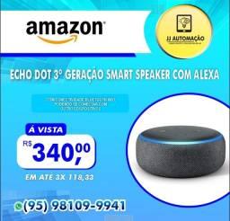 Título do anúncio: ECHO DOT 3° GERAÇÃO SMART SPEAKER COM ALEXA