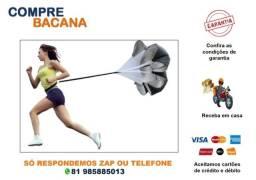 Título do anúncio: Paraquedas Para Treino Funcional Resistência Corrida Futebol