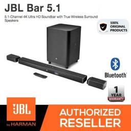 Soundbar JBL 5.1 canais 4k ultra hd sem fio (Promoção Imperdivel) Novo lacrado