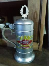 Rara caneca comemorativa cerveja Polar