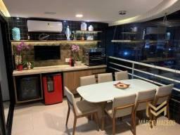 Título do anúncio: Apt° com 3 suítes, 243 m² por R$ 1.300.000 - Patriolino Ribeiro - Fortaleza/CE